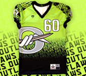 Sublimated football jerseys