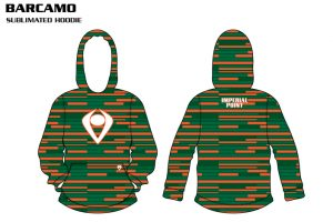 Barcamo Sublimated Football Hoodie