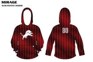 Mirage Sublimated Football Hoodie