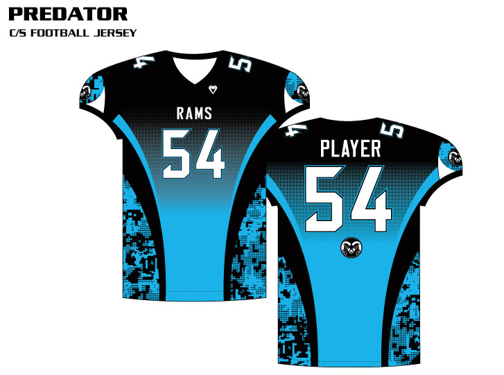 d918123b21f Sublimated Football Jersey Sublimated Flag Football Uniforms