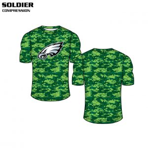 Soldier Custom Sublimated Compression Top