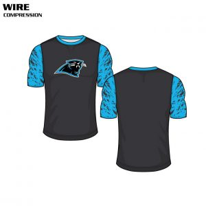 Wire Custom Sublimated Compression Top