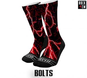 Sublimated Socks Bolts