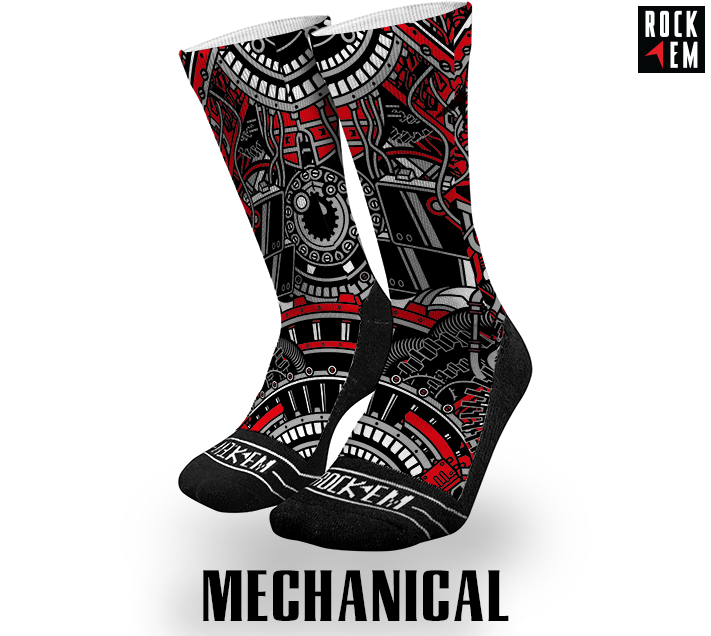 Sublimated Socks Mechanical