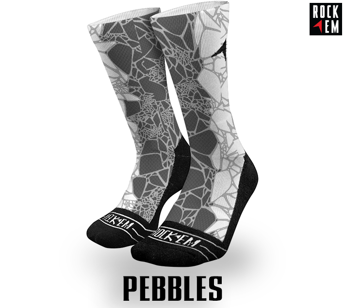Sublimated Socks Pebbles