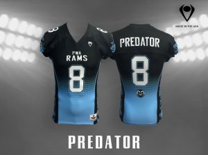 Predator Custom Sublimated Football Jersey
