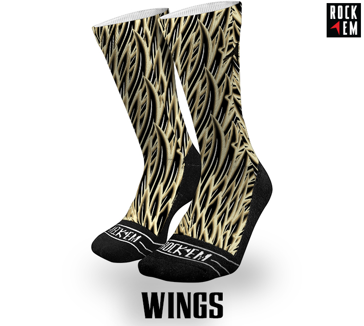 Sublimated Socks Wings